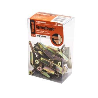 Ramset SpringToggle Countersunk 5 x 50mm - 20 Pack