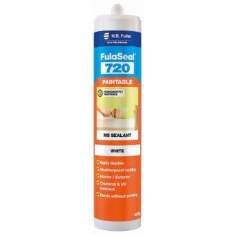 HB Fuller Fulaseal 720 Paintable Sealant White 400g