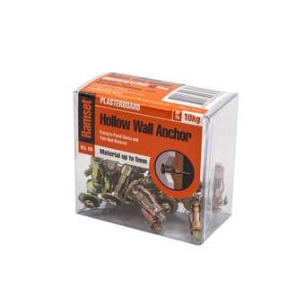 Ramset Hollow Wall Anchor 5-8mm - 20 Pack