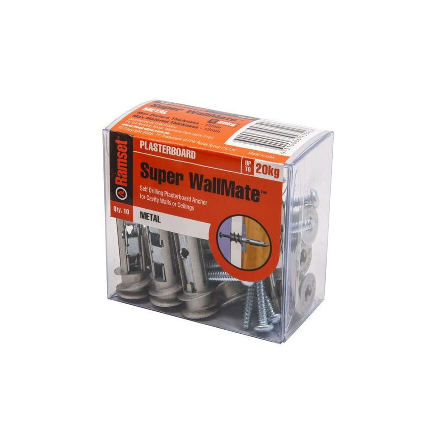 Ramset WallMate Super - 10 Pack