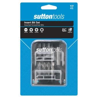 Sutton Tools Screwdriver Insert Bit Set 17 Piece