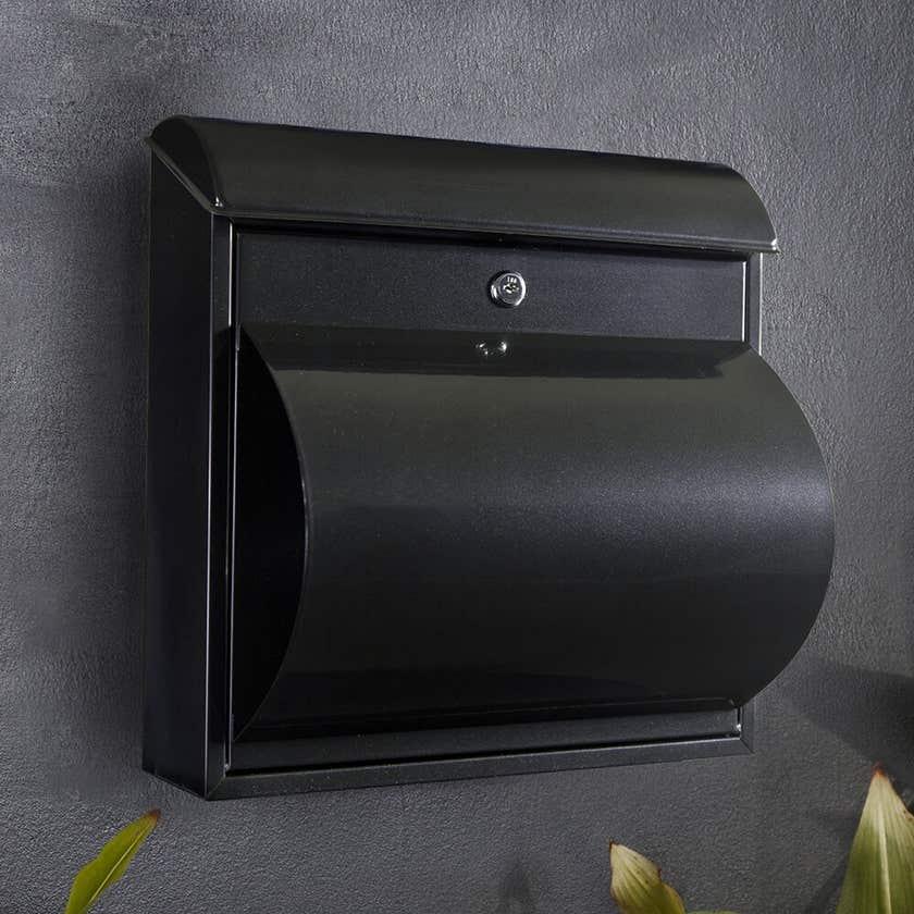 Sandleford Jupitor Letterbox Black