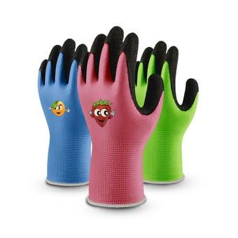 Lynn River Kids Latex Garden Gloves