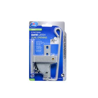 Zenith Dual Opening D Latch Galvanised - 1 Pack