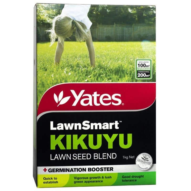 Yates Lawn Smart Kikuyu Lawn Seed 1Kg