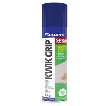 Selleys Kwik Grip Spray Adhesive 150g