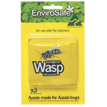 EnviroSafe European Wasp Attractant - 3 Pack