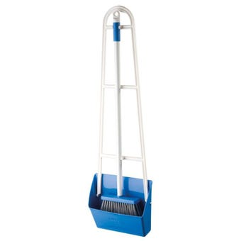 Oates Slimline Dustpan Set with Long Handle