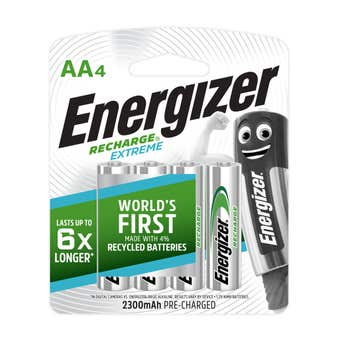 Energizer Rechargeable AA Battery  4 Pack