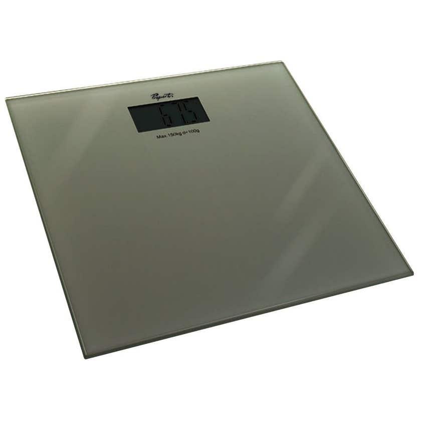 Propert Bathroom Scale Silver