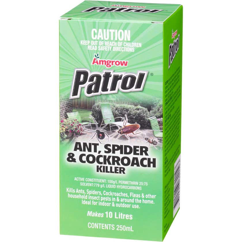 Amgrow Ant Spider & Cockroach Killer Concentrate 250ml
