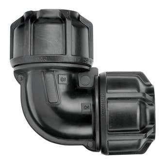 Philmac 3G Metric Pipe Elbow 40mm