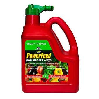 Powerfeed Vegie Fertiliser Reday To Use 2L