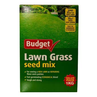 Yates Budget Lawn Grass Seed Mix 1kg