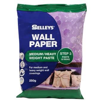 Selleys Wallpaper Paste Medium/Heavy 250g