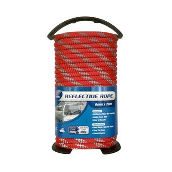 Zenith Reflective Line Rope 6mm x 20m