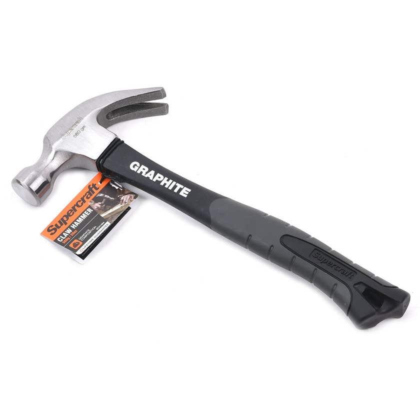 Supercraft Claw Hammer Graphite 560g