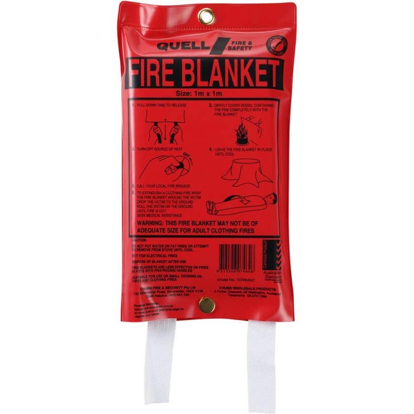 Quell Fire Blanket 1 x 1m