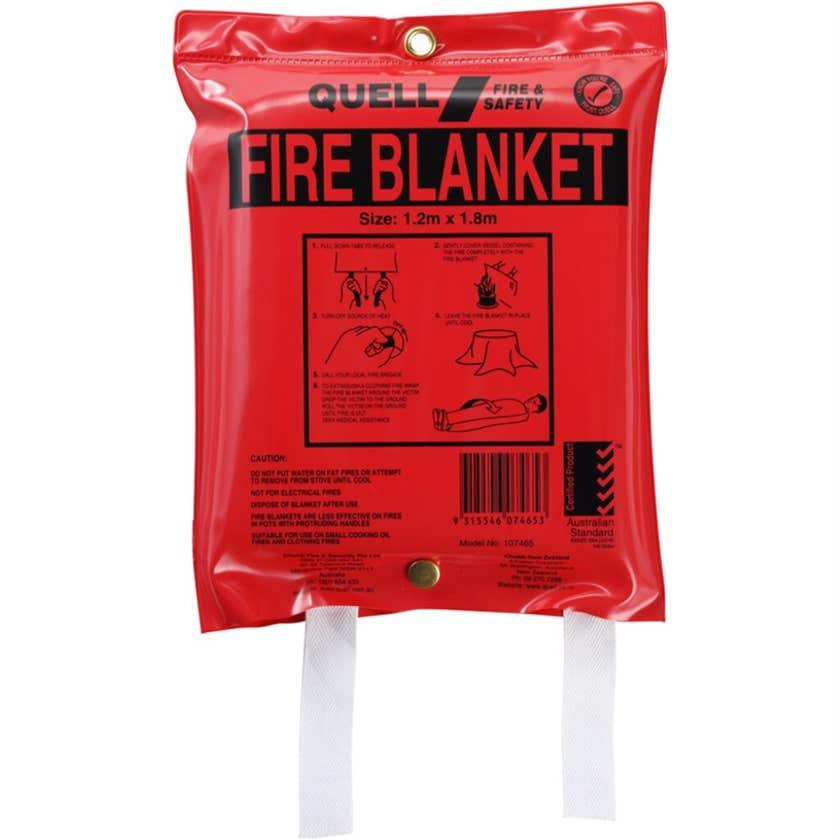 Quell Fire Blanket 1.2 x 1.8m