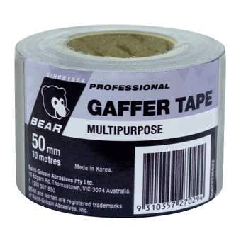 Bear Gaffer Tape Silver 50mm x 10m