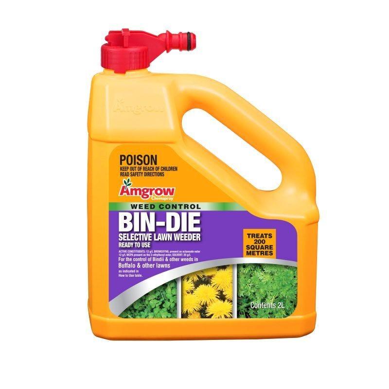 Amgrow Weed Control Bin-Die Hose On Herbicide 2L