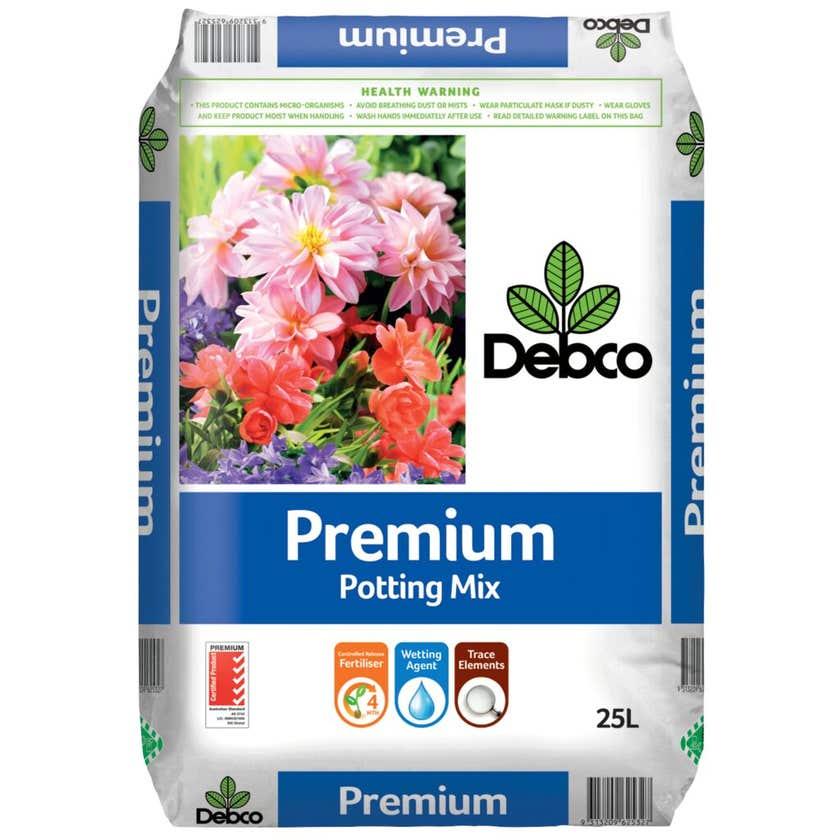 Debco Premium Potting Mix 25L