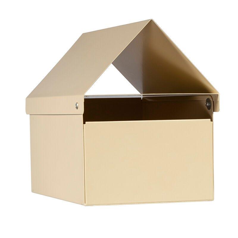 Sandleford Crest Letterbox Cream