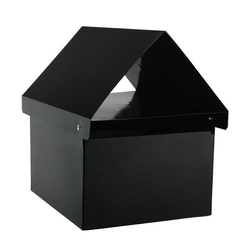 Sandleford Crest Letterbox Black