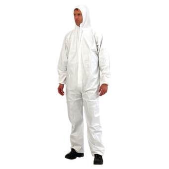 PROVEK Coveralls Disposable White XL