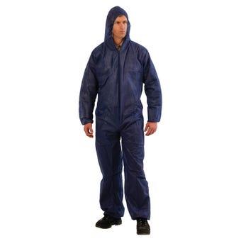 ProChoice Disposable Coveralls Blue Large