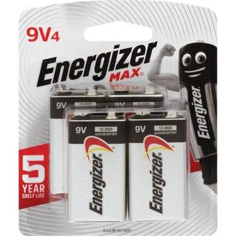 Energizer Max Battery 9V