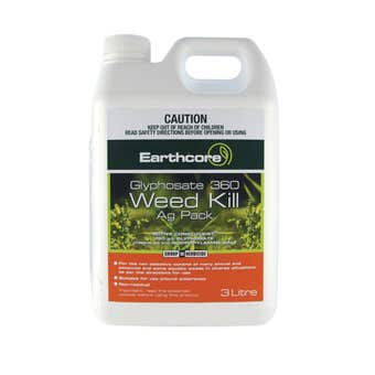 Earthcore Glyphosate 360 Weed Killer Concentrate 3L