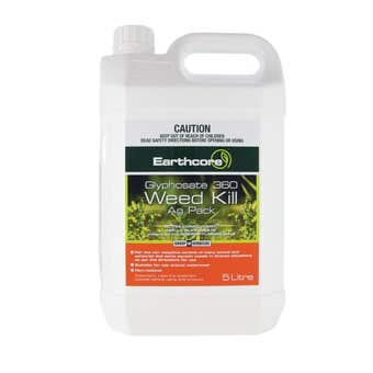 Earthcore Glyphosate 360 Weed Killer Concentrate 5L