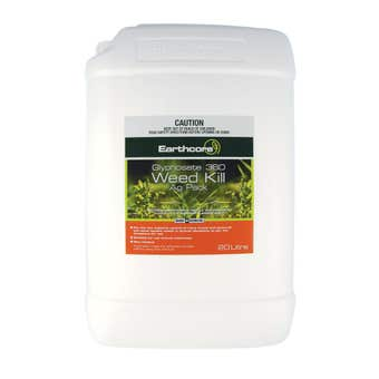 Earthcore Glyphosate 360 Weed Killer Concentrate 20L