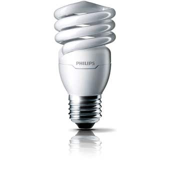 Philips Tornado Globe CFL 15W ES Warm White