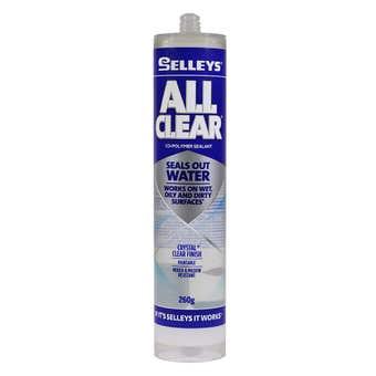 Selleys All Clear Sealant 260g