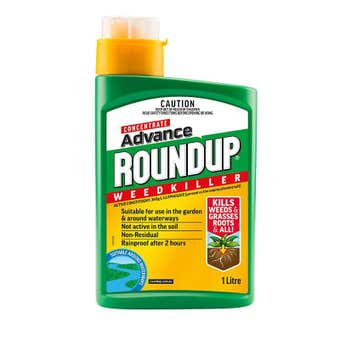 Roundup Advance Concentrate Weed Killer 1L