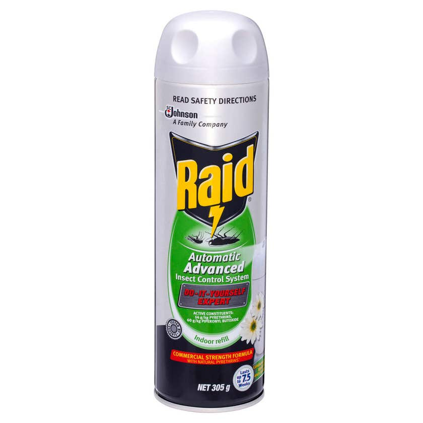 Raid Automatic Advanced Insect Control System Indoor Refill 305g