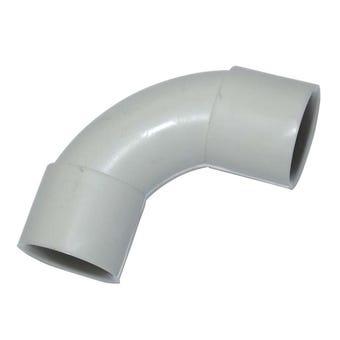 Tripac Grey Solid Elbow  25mm