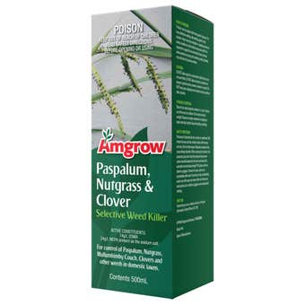 Amgrow Paspalum/Nutgrass/Clover Selective Weed Killer 500ml
