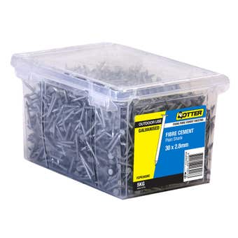 Otter Fibre Cement Galvanised Nail 3.0x2.8mm 5kg