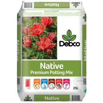 Debco Native Premium Potting Mix 25L