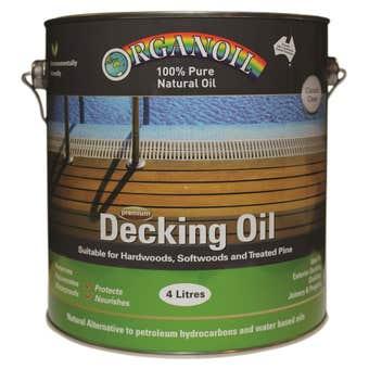 Organoil Decking Oil Classic Clear 4L