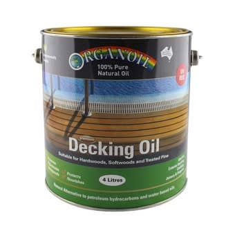Organoil Decking Oil Red 4L