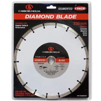 Carborundum Segmented Diamond Blade 230mm