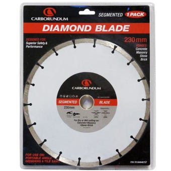 Carborundum Segmented Diamond Blade 230mm