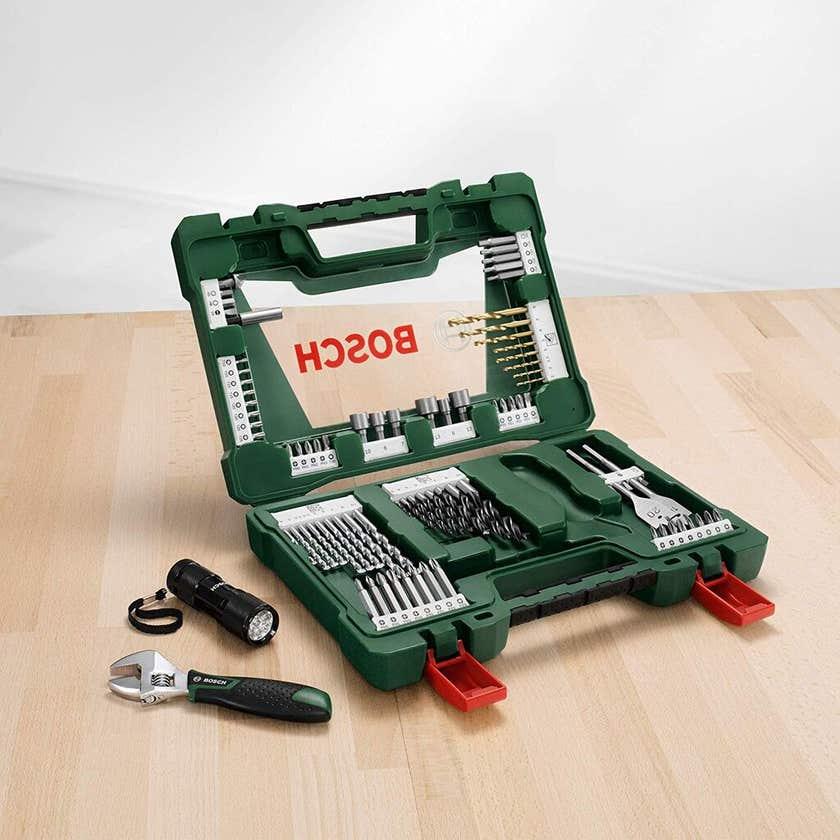 Bosch V-Line Titanium and Screwdriver Drill Bit Set - 83 Piece