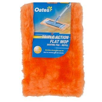 Oates Flat Mop Dusting Pad Refill