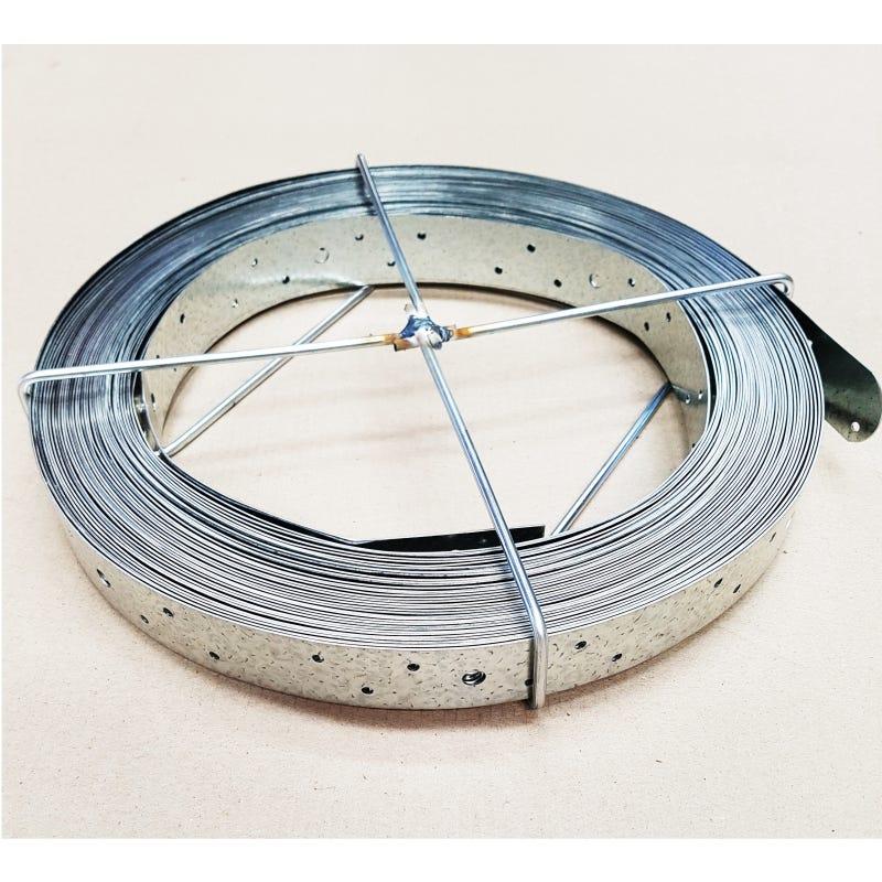 Wilmaplex Hoop Iron 30mm X 1.0mm X 30m Punched