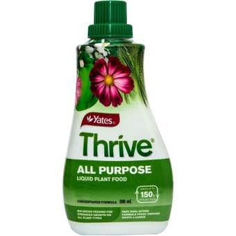 Yates Thrive All Purpose Liquid Fertiliser 500ml